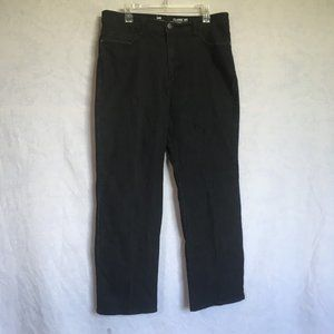 Lee Jeans Black Straight Leg Classic Fit